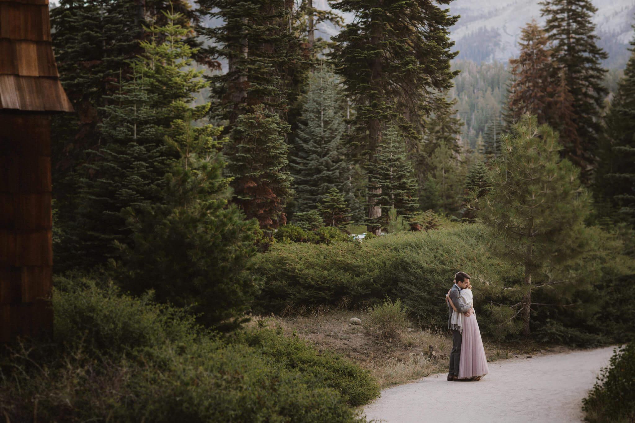 Julia Jeff S Elopement Sequoia National Park Ca